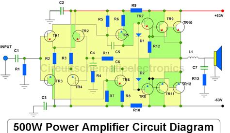 Power Amplifier With Pcb Layout