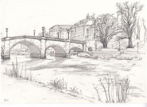 richmond bridge drawing  life bridge drawing