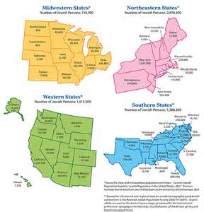 Us Population by Region Map