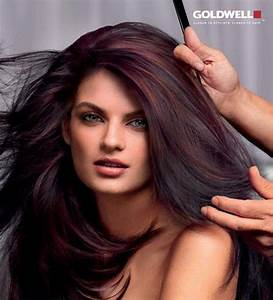 Black Cherry Hair Color With Highlights ...