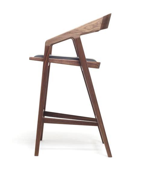 tabouret bar bois design cuisine en image