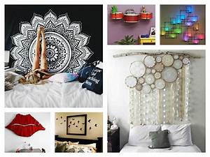 creative wall decor ideas diy trends also awesome homemade With diy wall decor ideas for bedroom