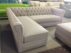 design tufted sectional sofa loccie better homes gardens With sectional sofa with tufting