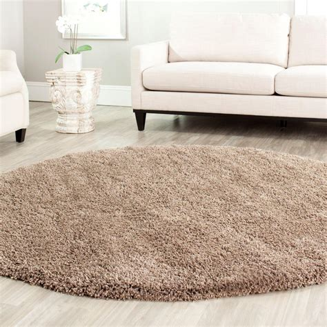 safavieh california rug safavieh california shag taupe 4 ft x 4 ft area