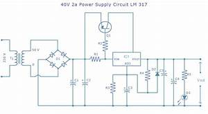 Lm317 Power Supply Circuit