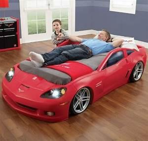 Lit Voiture Garcon : lits voiture lits enfant pinterest lit voiture lit ~ Melissatoandfro.com Idées de Décoration