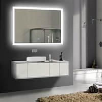 vanity mirrors for bathroom LED Bathroom Wall Mirror Illuminated Lighted Vanity Mirror ...