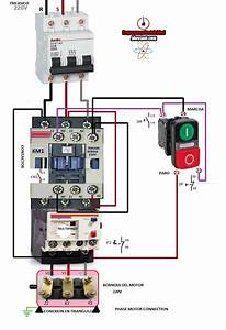 Phase Motor Connection