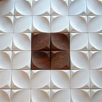 wall tile designs 25 Spectacular 3D Wall Tile Designs To Boost Depth and Texture - Homesthetics - Inspiring ideas ...