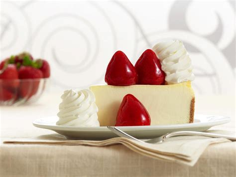Pumpkin cheesecake when i was young we produced several ingredients for this longtime favorite on the farm. Cheesecake topped with glazed strawberries. (The Cheesecake Factory) | Mini pumpkin cheesecake ...
