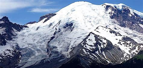glaciers mount rainier national park  national park