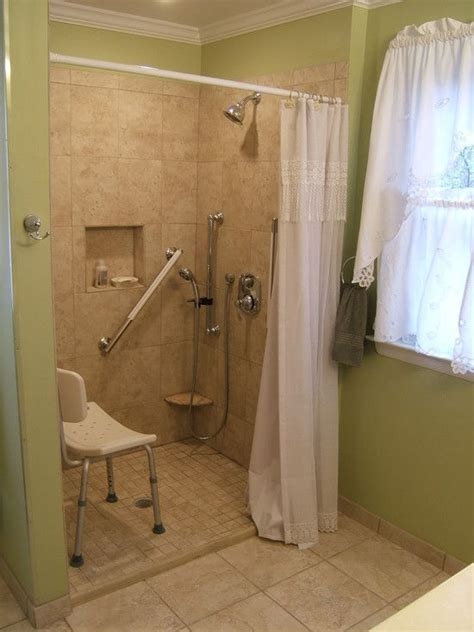 tile shower  small step  step  walk  showers