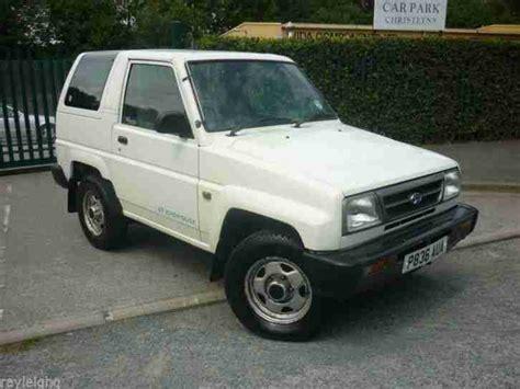Daihatsu 1997 Sportrak Xi Se White 12 Mth Mot 1 Owner P X