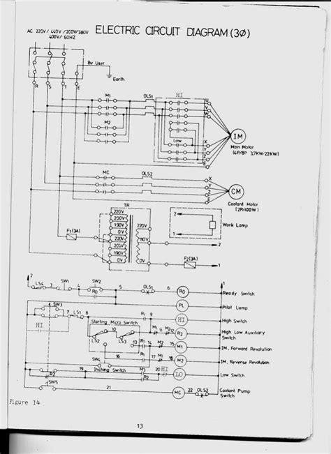 lathe wiring diagram wiring diagram