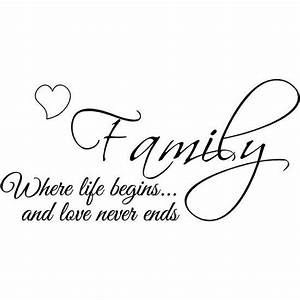This would actually make a cute tattoo. Family is ...