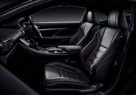 lexus rc interior lexus rc 300h f sport black edition to debut at 2018