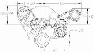 Billet Specialties Polished Power Steering Pump Bracket