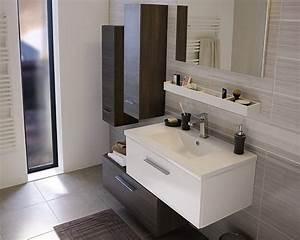 Plafonnier Salle De Bain Castorama : castorama meuble de salle de bains nida les meubles ~ Nature-et-papiers.com Idées de Décoration