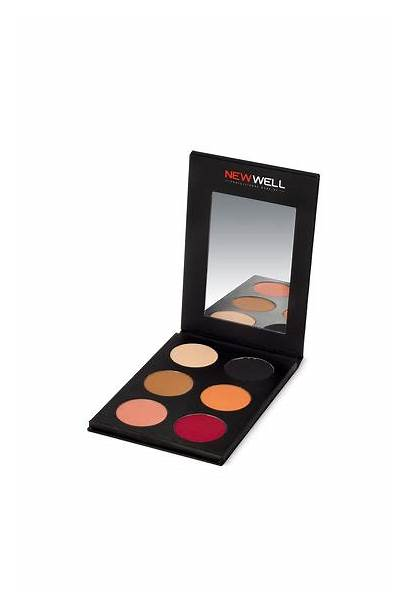 Eyeshadow Palette Tones Colours Well Newwell Tr