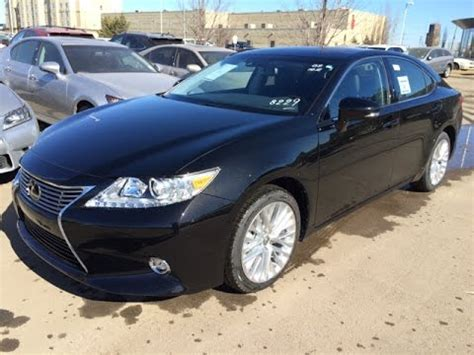 New Black 2015 Lexus Es 350 4dr Sdn Fwd Executive