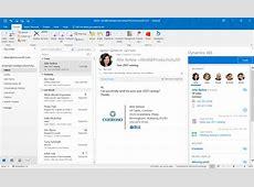 Dynamics 365 App for Outlook Support Matrix – Dynamics 365