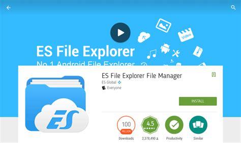 es file explorer bundles adware for your lockscreen