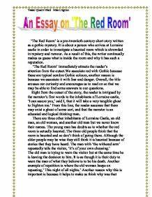 an analysis of the short story the red room by hg wells The short stories of h g wells 'the red room' is also known as 'the ghost of fear' i found that one of the nickel bars was exactly one inch too short.