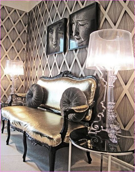 Hollywood Glam Decorating Style  Home Design Ideas