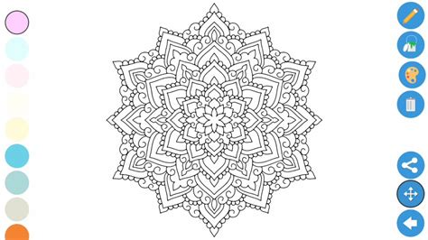 coloring apps  adults zen coloring book