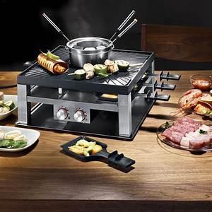 Raclette Und Fondue Set : solis combi grill 3 in 1 design raclette tischgrill ~ Michelbontemps.com Haus und Dekorationen