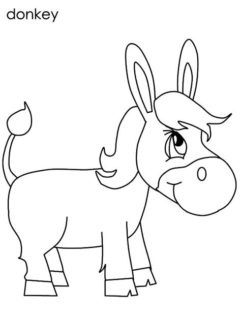 chibi mexican donkey coloring pages color luna