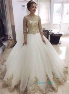 and gold wedding dress gold chagne colored wedding dresses cheap sparkly bling wedding gowns