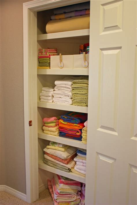 Awesome Linen Closet Organizers Homesfeed