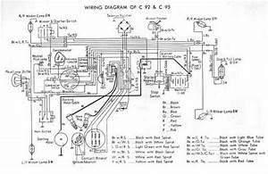 Honda C92 Wiring Schematic - 4-stroke Net