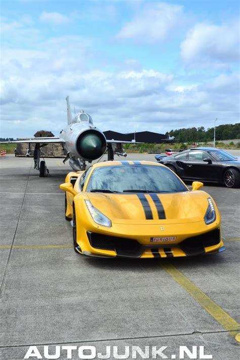 The 488 pista is described as ferrari's most powerful and most advanced special series model so far. Ferrari 488 Pista Modena Yellow foto's » Autojunk.nl (243600)