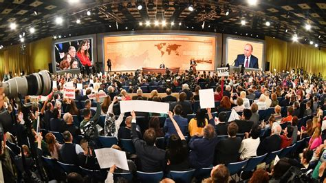 Putin's End-of-Year Press Conference, in Quotes - The ...
