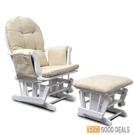 wooden baby glider sliding rocking breast feeding chair