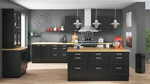 but cuisines cuisines amenagee equipee en kit sur With photo pour cuisine