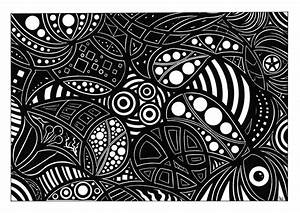 Black And White Psychedelic Art Pictures to Pin on ...