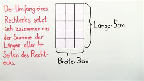 flaecheninhalt und umfang mathematik  lernen