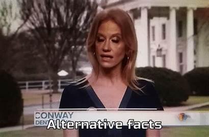 Alternative Facts Conway Kellyanne Gifs Smokin Trump
