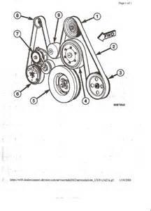 Serpentine Belt Diagram On A 2004 Chevy Duramax Diesel