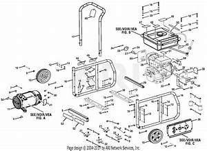 Homelite Bm903000a 3000 Watt Generator Parts Diagram For