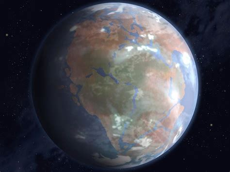 The History of the Supercontinent Pangea