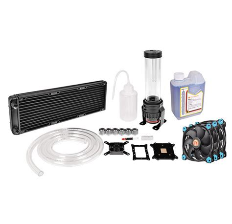 shop fans water cooled thermaltake global pacific r360 water kit
