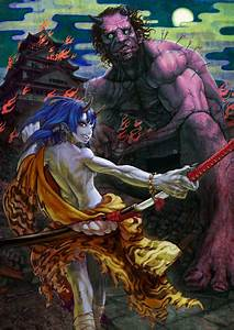 """ONI"" by jonpei on deviantART 