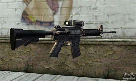 ma carbine assault rifle  gta san andreas