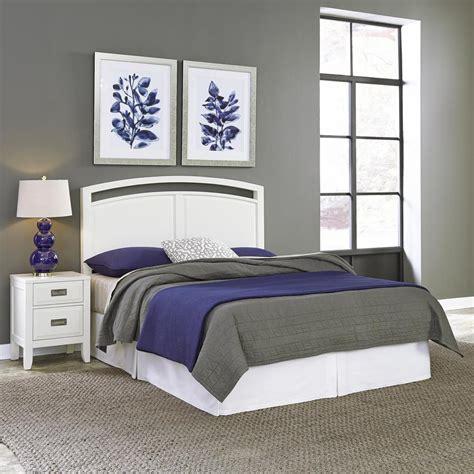 home styles newport  piece white queen bedroom set