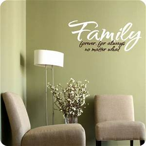 Family Wall Decal Wall Décor about Family