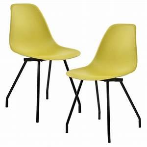 Design Stühle Esszimmer : 2x design st hle esszimmer stuhl plastik kunststoff stuhlset retro ebay ~ Orissabook.com Haus und Dekorationen